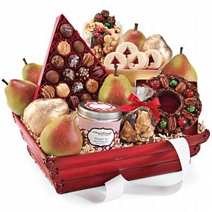 Christmas Gift Basket Client Gift