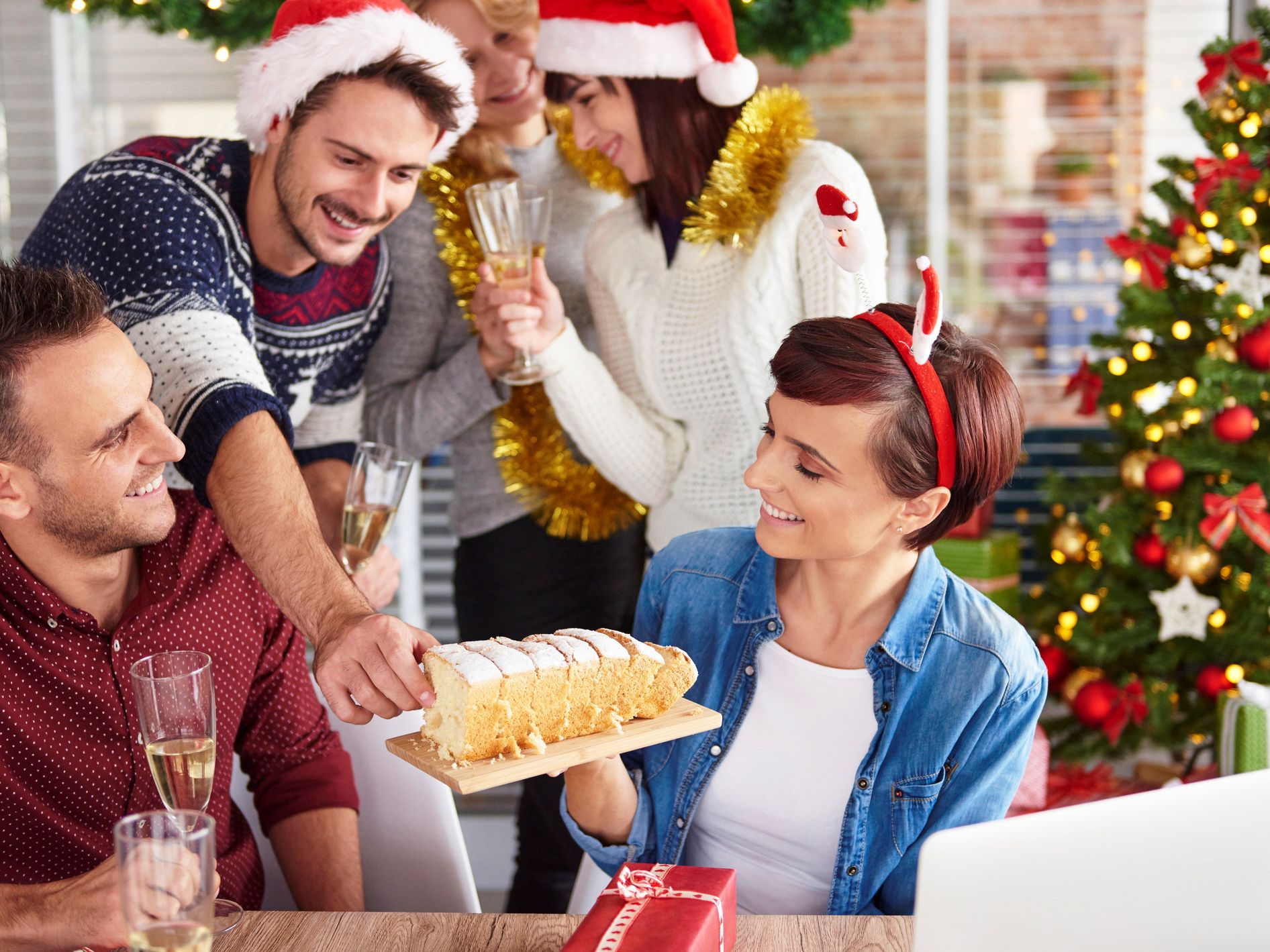 Holiday Christmas Party.Company Christmas Party Ideas