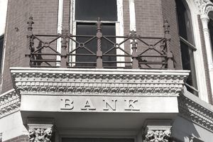 Bank front