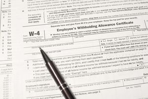 W-4 Employee Withholding Form
