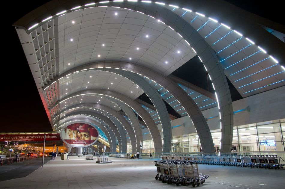Middle East, UAE, Dubai, airport new Al Maktoum