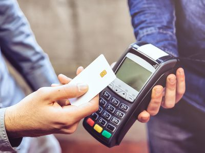 Contactless credit card payment system