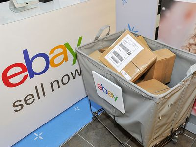 ebay boxes in a cart ready for shipment are encoded with the User ID