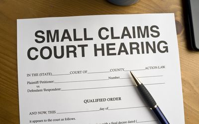 Collecting on a Small Claims Judgment