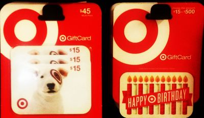 Target Gift Card Best Selection Not Rules