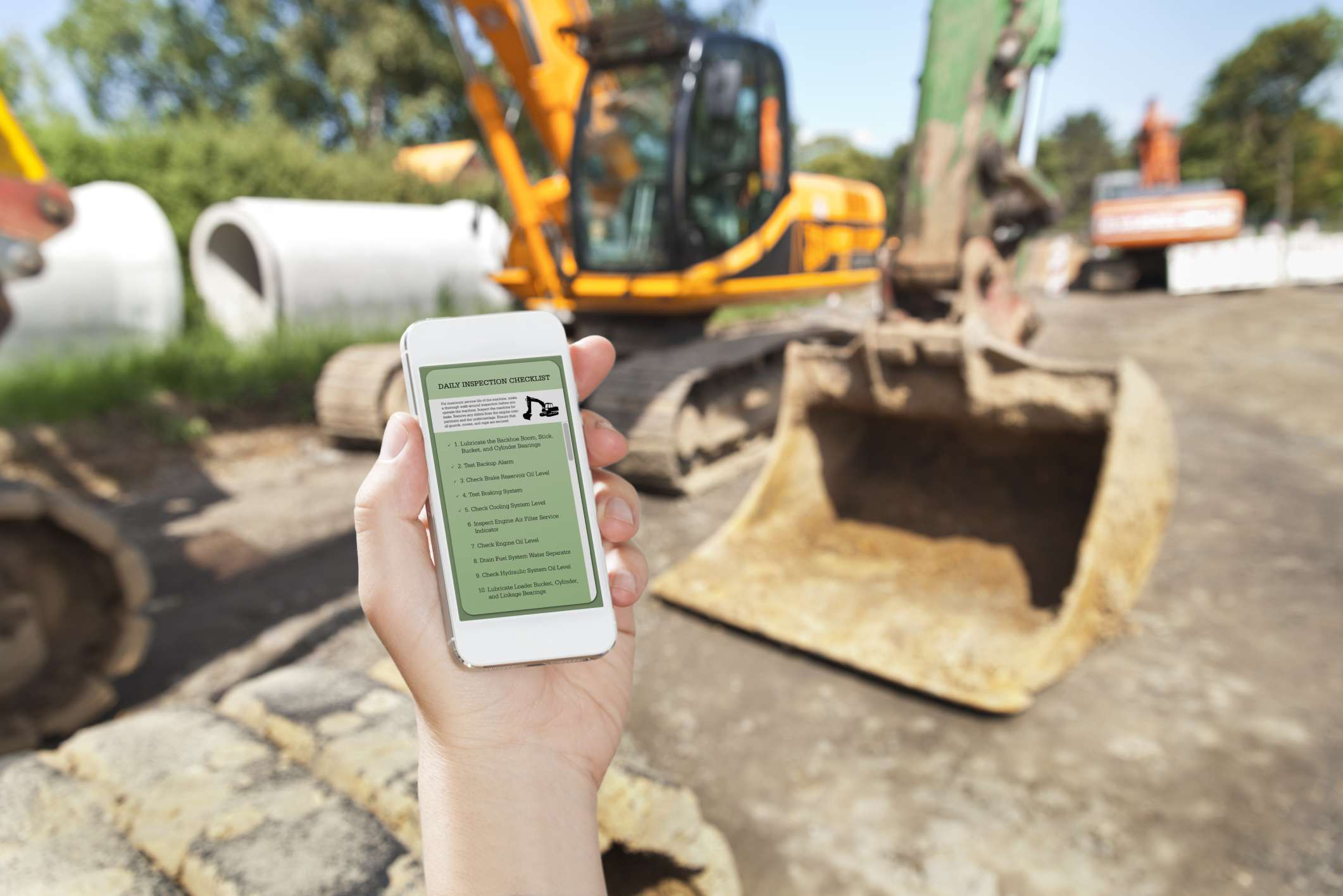 Construction software on a smartphone may help some small businesses.