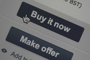 A buy it now button in an eBay window
