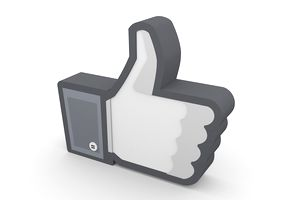"Thumbs up ""like"" icon from Facebook."