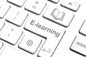 E-learning keyboard