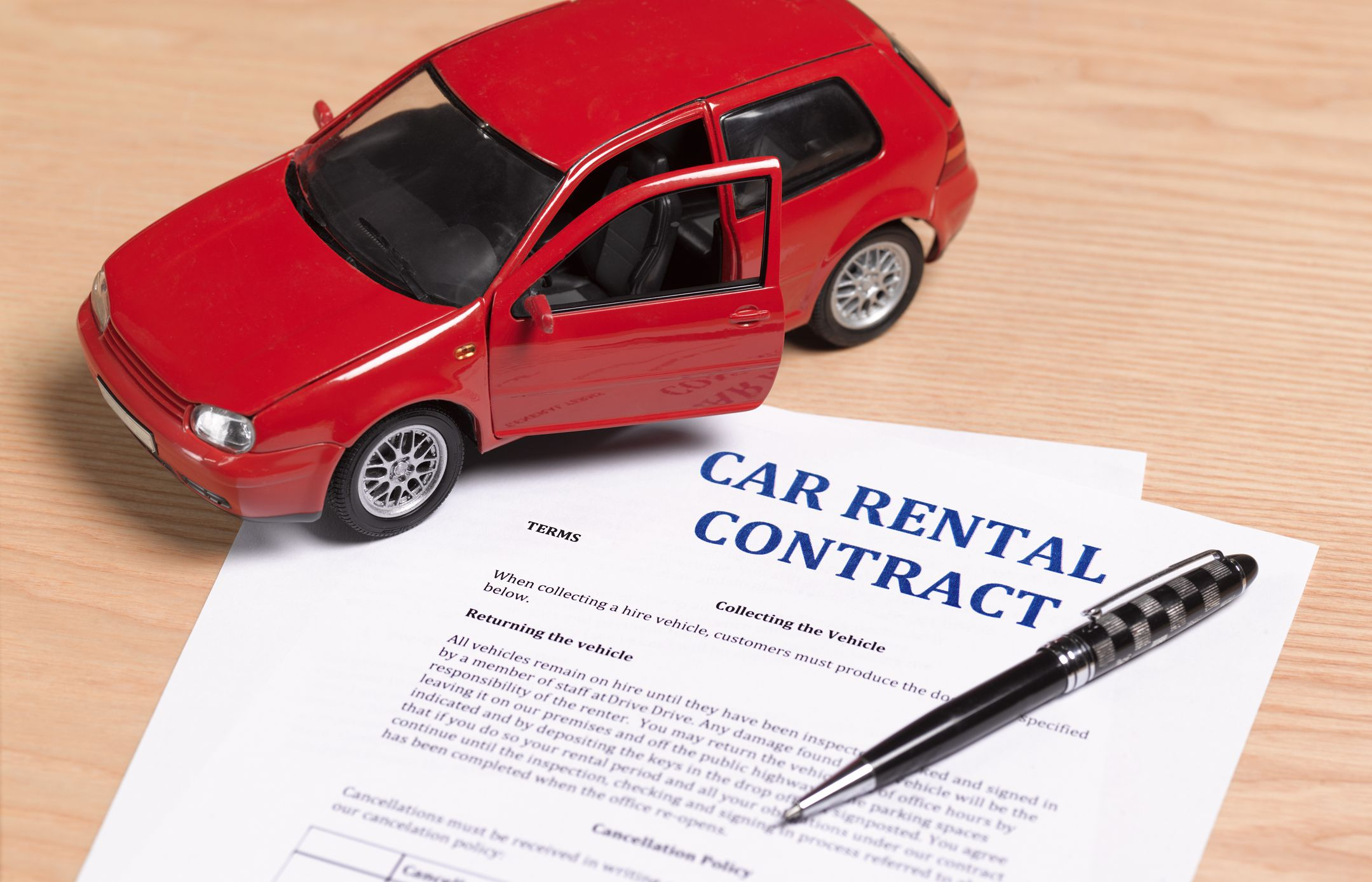 Image result for hire car contract