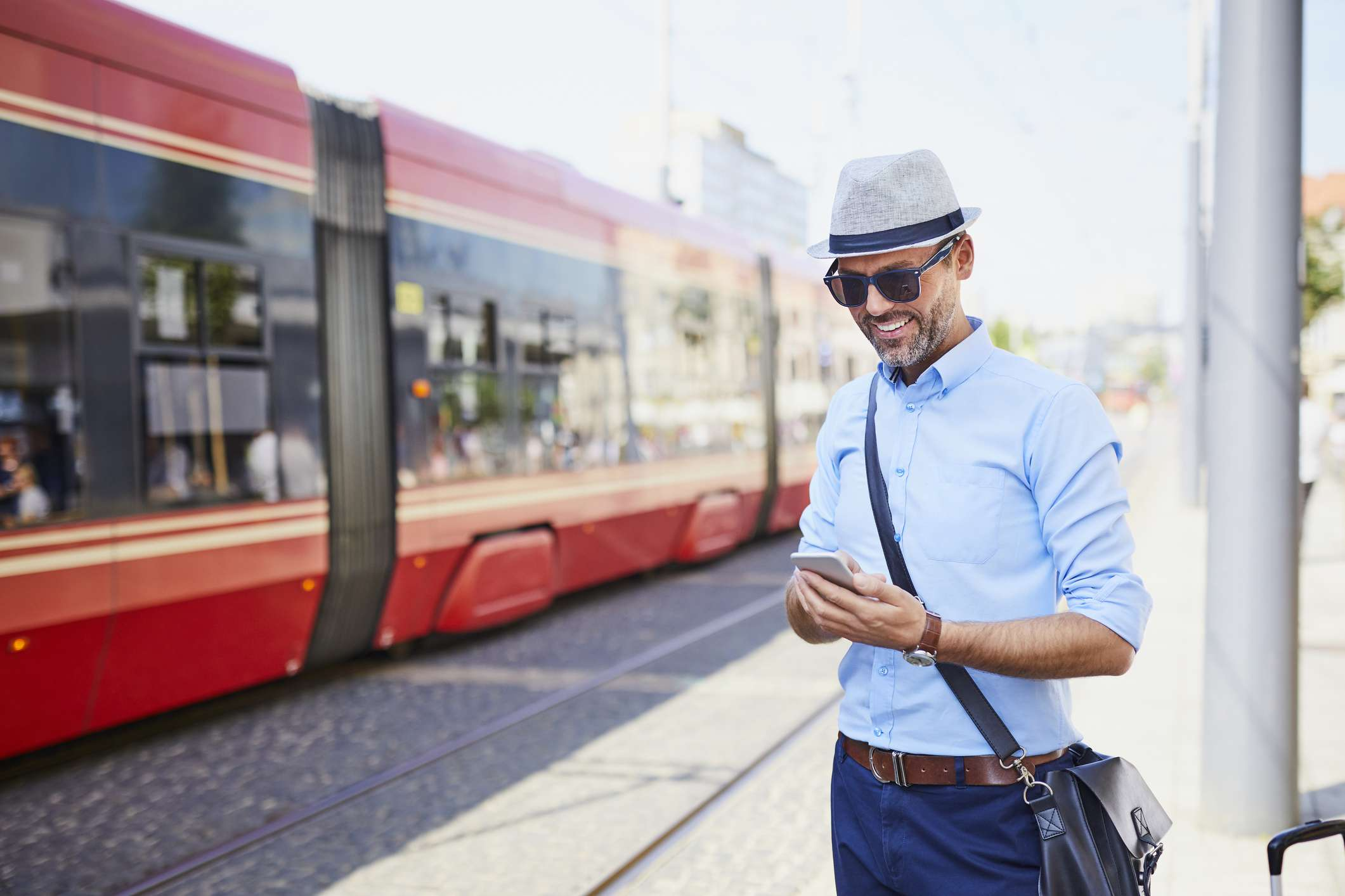 traveler purchasing gifts on the go