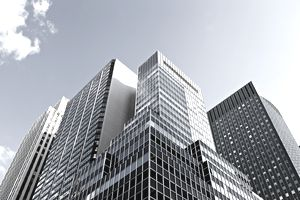 Office towers in New York City