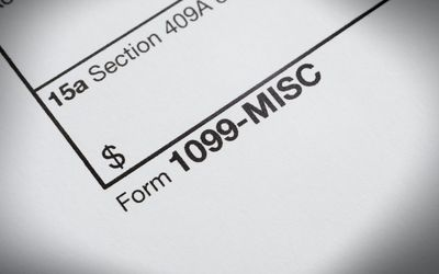 1099-MISC For Reporting Independent Contractor Income