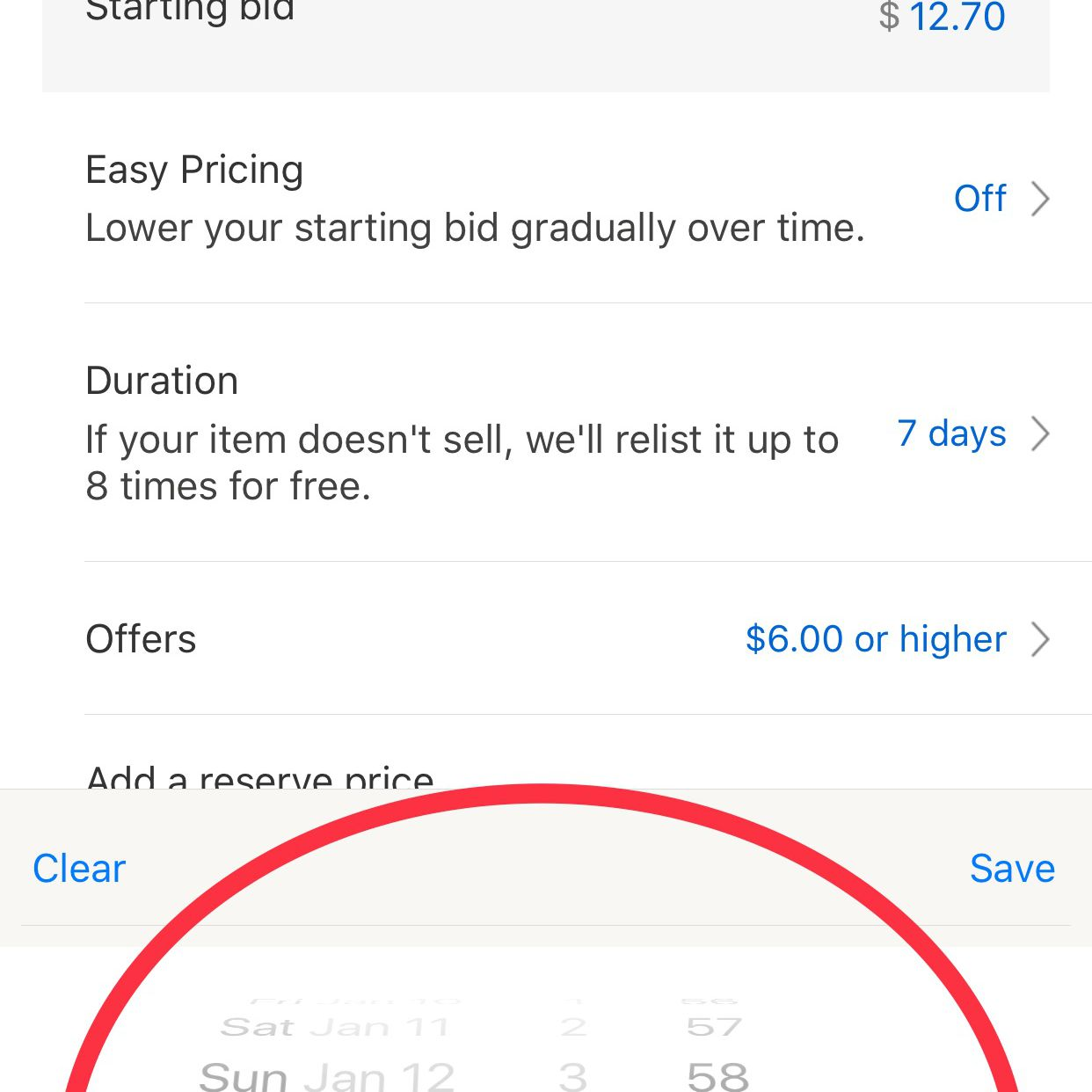Visual Guide To Selling Using Ebay S Iphone App