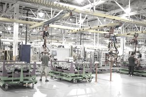 Michigan Ford Plant Manufactures New Hybrid Transmissions