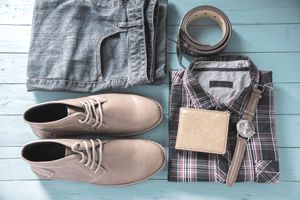 Shoes, clothes, and accessories