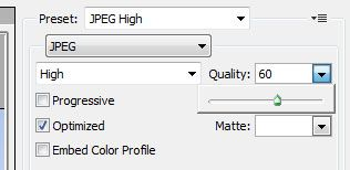 Choose Image Quality in Photoshop CS5