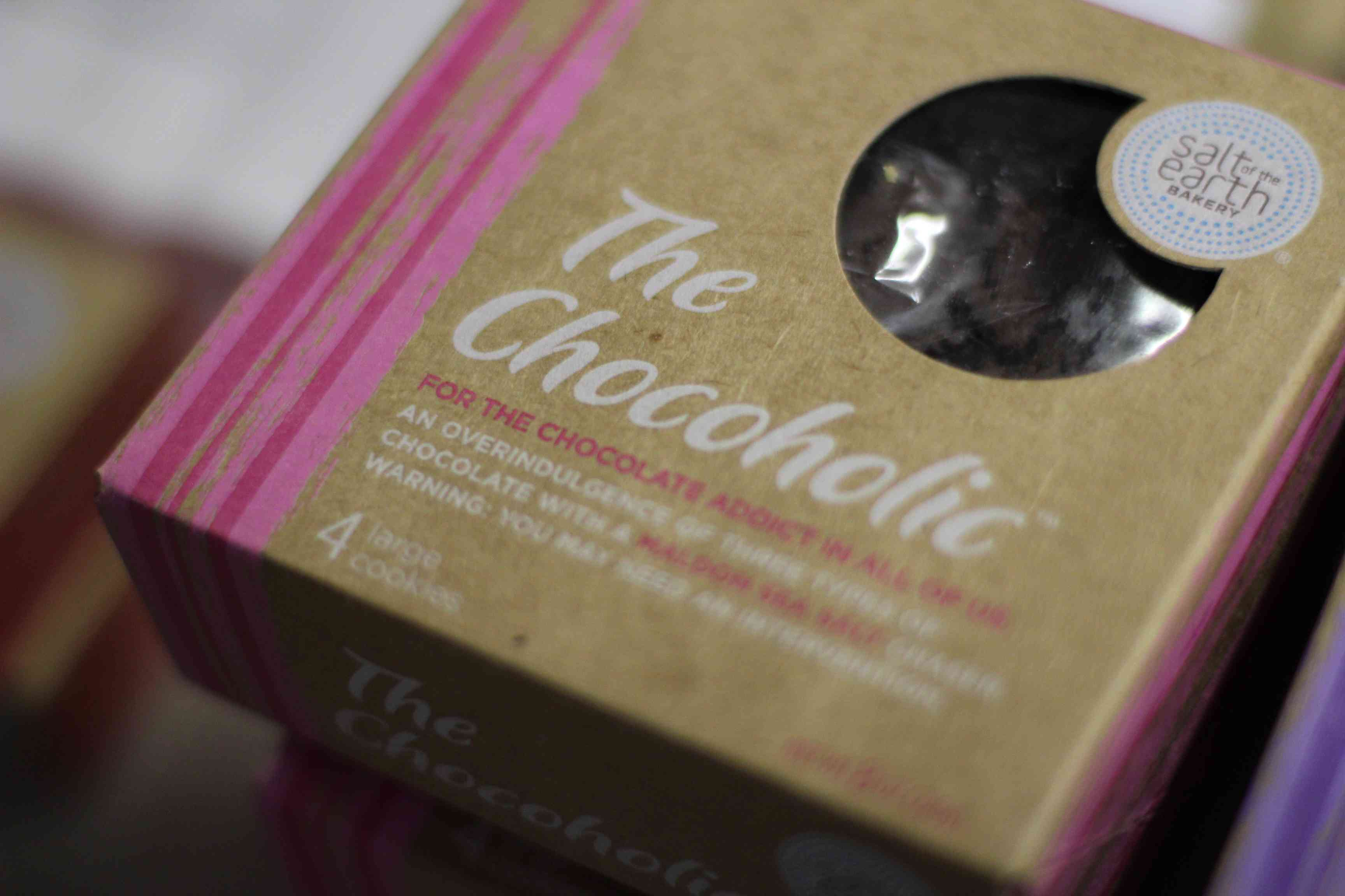 Packaged chocolate