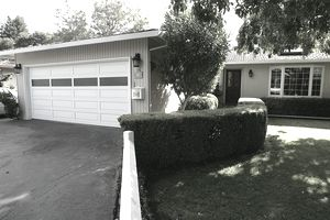 The garage where Google co-founders Larry Page and Sergey Brin set up Google