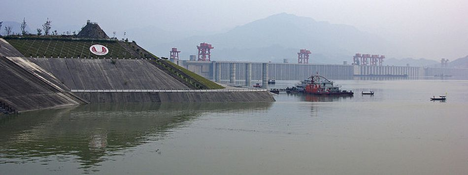 Three Gorges Dam - Yangzi River