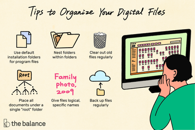 How To Organize Computer Files Electronic File Management Tips