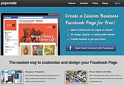 7 Tools for Creating a Custom Facebook Welcome Page
