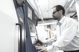 Manager monitoring information on computer system