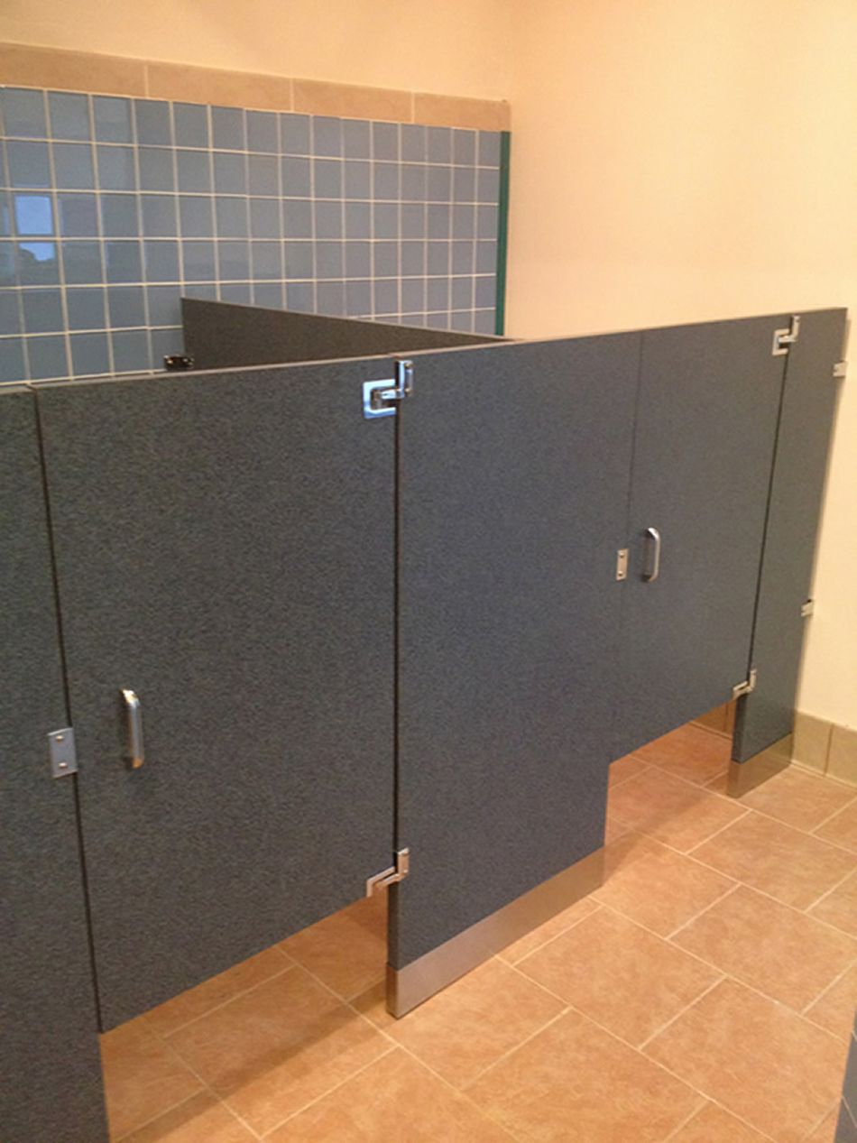 The Different Types Of Toilet Partitions - How to install bathroom partitions