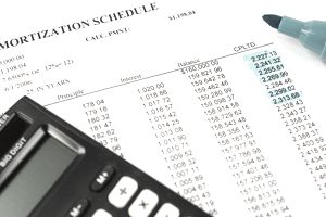 Amortization schedule can help business calculate the cost of borrowing.
